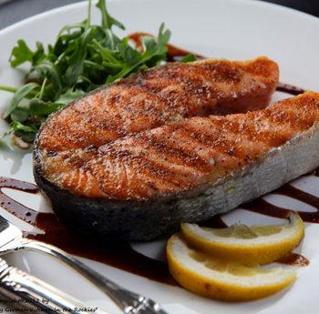 стейк из лосося