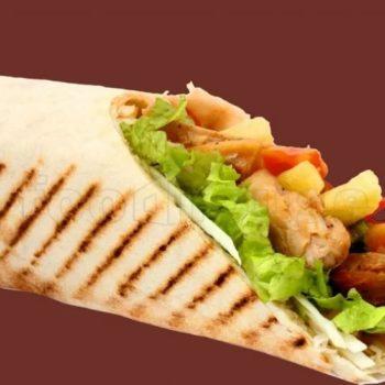 донер курица - 470тг лаваш, курица, картофель фри, салат, кетчуп, майонез