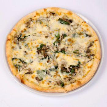 грибы пицца